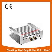 Hot Sale Commercial 11 Rollers Double Temperature Control Sausage Grill Hotdog Machine Hotdog Roaster Machine