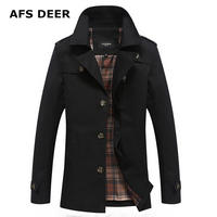 High Quality Causal 100 Cotton Spring Autumn Male Jacket Hooded Patchwork Mens Jackets And Coats Chaquetas