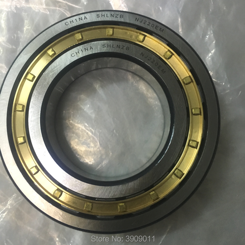 SHLNZB Bearing 1Pcs  NJ306 NJ306E NJ306M  NJ306EM NJ306ECM C3  30*72*19mm Brass Cage Cylindrical Roller Bearings