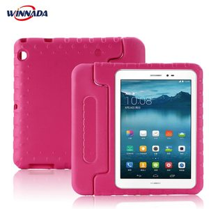 Kids case for Huawei MediaPad T3 10 / T3 9.6 tablet hand-held Shock Proof EVA full body cover for AGS-L09 AGS-L03 AGS-W09(China)
