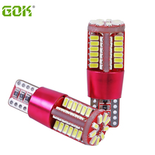 2pcs T10 led canbus w5w 57 3014 super bright 57smd lamp NO Error Car marker Auto Wedge Clearance Light bulb parking