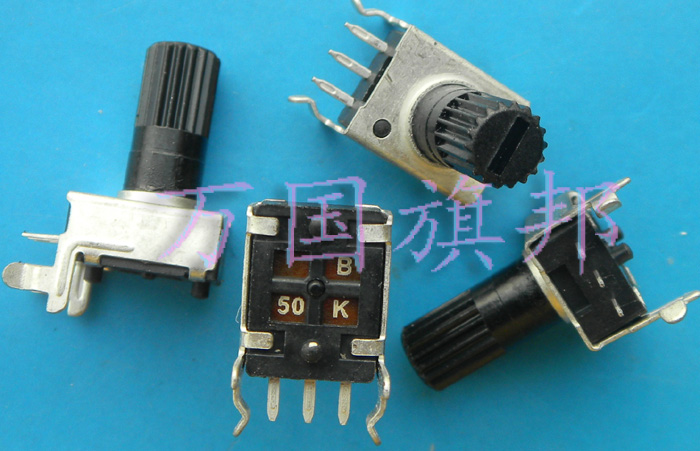 Free Delivery.09 Years Of Single Type Of Alliance R0901N Potentiometer B503 K 0901 Years B50K 50 Level