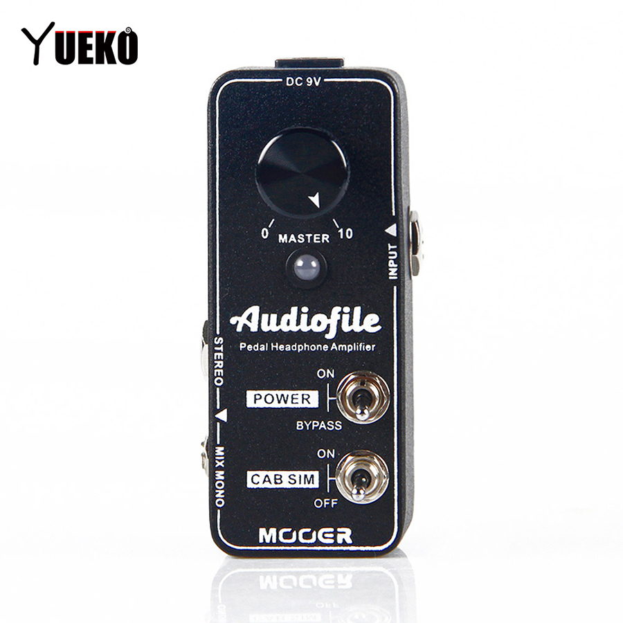 NEW Mooer Audiofile Guitar pedal pedalboard headphone amplifier Effect Pedal Guitar Accessories new effect pedal mooer solo distortion pedal full metal shell true bypass