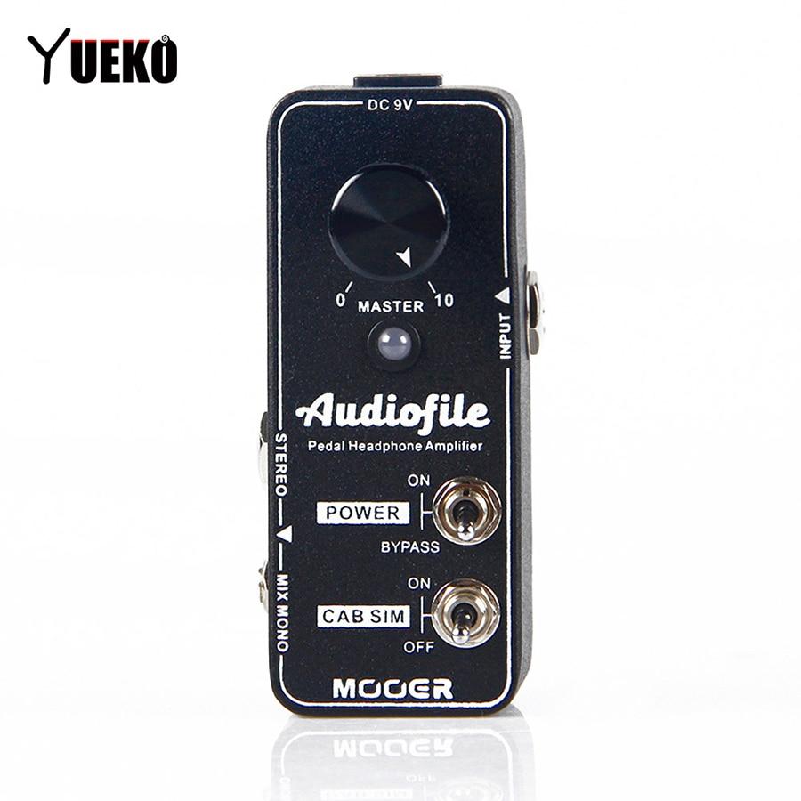 Nouveau Mooer Audiofile pédale de guitare pedalboard casque amplificateur effet pédale accessoires guitare