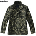 New LetsKeep 2017 spring army camouflage jacket fashion men military tactical jackets mens cotton camo jackets and coats, MA306