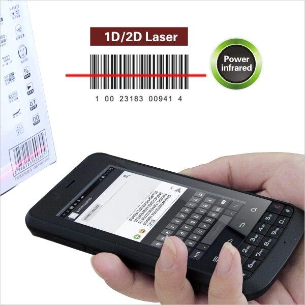 LS388T Карманный Android Quad-core промышленный КПК со сканером штрих-кода, NFC, WI-FI, 3g, камера