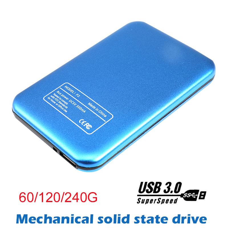 Portable External Mobile Solid State Drive 60G/120G/240G USB3.0 Convenience Mobile SSD for Windows/Mac/Linux Laptop Accessories pechoin 120g 60g