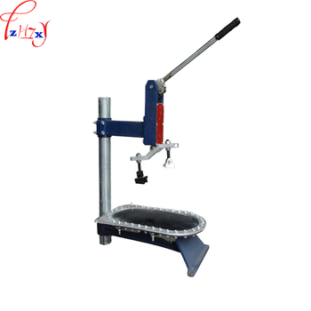 Manual operation pressure machine apply to shoes and sole adhesion to pressure solid pressing equipment