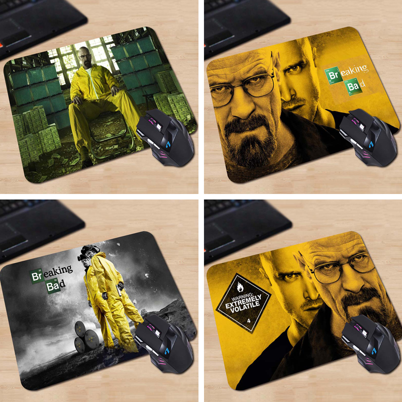 Walter White his Chemistry Drug Dollars Funny Mouse Mat Design Laptop Printed Gaming Mouse Pad Computer mouse pad Not Overlock
