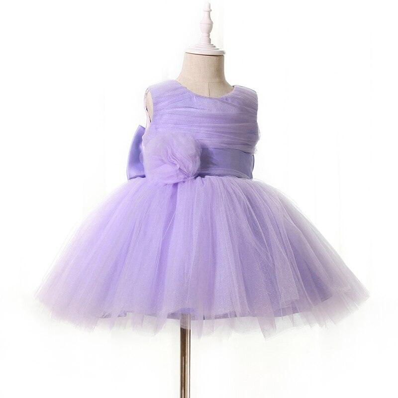 2018 Nowa urocza maluch baby girl party dress Najwyższej jakości - Odzież dla niemowląt - Zdjęcie 4