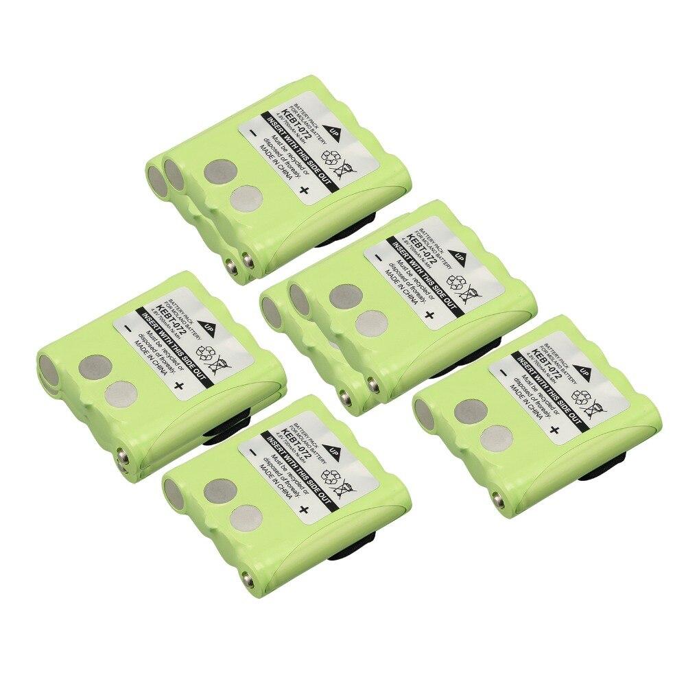 Neue ausverkauf! 6 stücke ein satz 4,8 v batterie für motorola sx700 sx709r kebt702 kebt-072 zwei funkgeräte