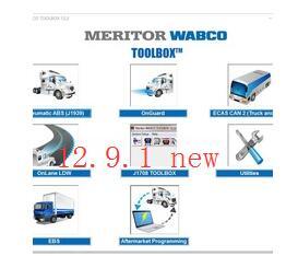 2019 Meritor WABCO ABS TOOLBOX 12.9