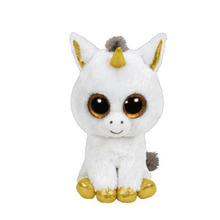 Bright Big Eyes Soft Plush Toys Animal Pet font b Doll b font White Unicorn