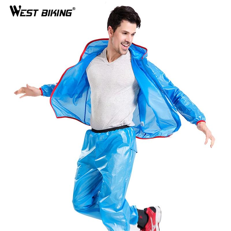 WEST BIKING Cycling Jersey Rain Coat Waterproof Rain Jacket Bicycle Clothing MTB Bike Windproof Ciclismo Cycling Raincoat