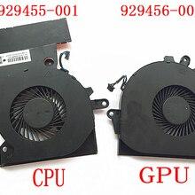 Вентилятор для hp двумя способами; женские 15-CE 17-это TPN-Q194 929455 929456-001 аккумулятор большой емкости NFB74A05H-001 NS75B00-16M02 NS85B00-16M03 NFB76A05H-001 G3A-GPU G3A-CPU