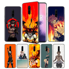 Fairy Tail Anime Soft Black Silicone Case Cover for OnePlus 6 6T 7 Pro 5G Ultra-thin TPU Phone Back Protective