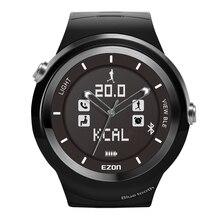 2016 Nuevo Profesional Running Inteligente Bluetooth Podómetro Impermeable Deporte Reloj Con Tiempo de la Red de Gestión Deportiva Llamada Resto