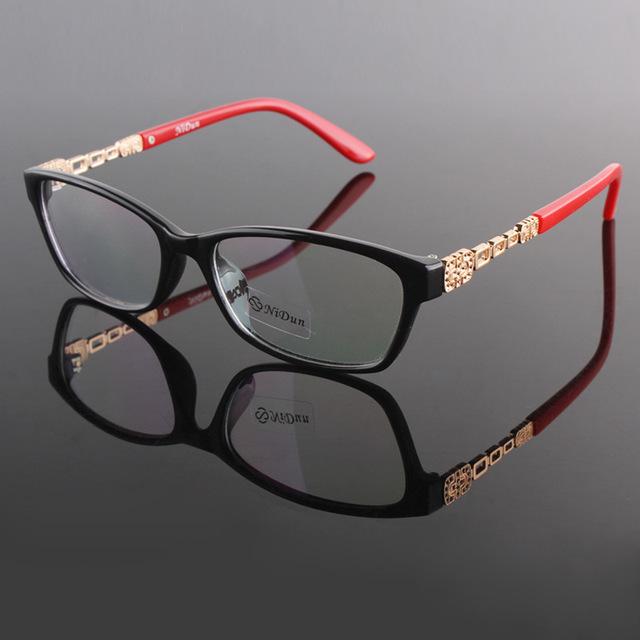 Marca Diseño Tortuga Mujeres Gafas de Marco de Anteojos recetados