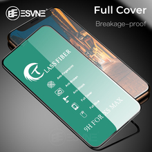 ESVNE Protective Glass For Iphone 7 6 6s 8 plus anti broken Fiber Tempered for iphone X XS MAX XR Screen Protector