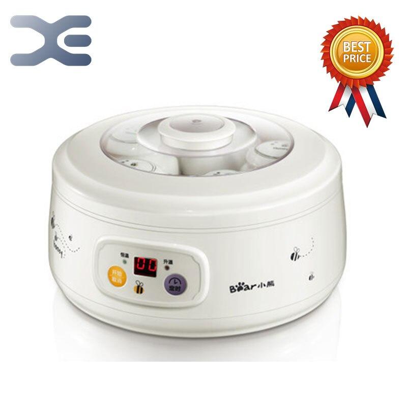 Йогуртницы 5 шт. фарфор стаканчик йогурта Кухня прибор терморегулятор Мультиварка