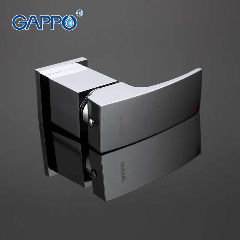 GAPPO ห้องน้ำก๊อกน้ำอ่างอาบน้ำก๊อกน้ำอาบน้ำชุดฝักบัวน้ำตกอ่างอาบน้ำอ่างล้างจานก๊อกน้ำ Mixer SINK tapsGA1107
