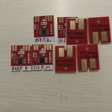 8pcs ES3 Chip For Mimaki JV33 JV5 JV3 Permanent Chip chip permanent for mimaki jv5 6 colors cmyklclm hs cartridge