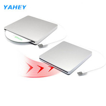 USB DVD Drives Optical Drive External DVD RW Burner Writer Recorder Slot Load CD ROM Player for Apple Macbook Pro Laptop PC