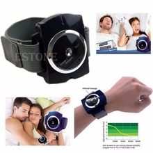 Infrared Intelligent Anti Snore Wristband Watch Stop Solution Sleeping Aid D11347