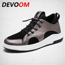 DEVOOM Mens Shoes Lightweight Breathable Travel Shoes New Fashion For Youth Superstar Casual walking zapatillas hombre casuals