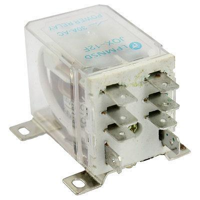 Подробнее о JQX-12F DC 24V Coil 30A 8 Pin 2NO 2NC DPDT Electromagnetic Relay free shipping dc 12v coil electromagnetic relay 8 pins dpdt 2 no 2 nc jqx 10f 2z