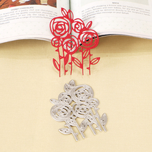 DUOFEN METAL CUTTING DIES - 020243 rosebush Metal Cutting Dies Stencils for DIY Scrapbooking paper crafts 2018 New