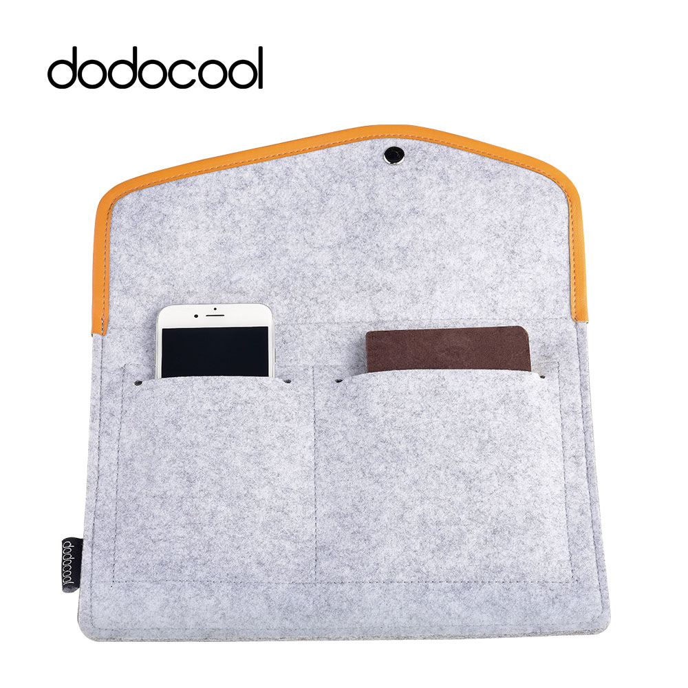 dodocool Sleeve Soft Tablet Case Protective Cover Bag 3 Slots Anti-scratch Tablet Bags for Apple iPad Air 2 Pro Air 9.7 9.7Inch lss soft sleeve bag case pouch tablet cover for 7 9 9 7 12 9 ipad mini 1 2 3 4 ipad air 2 ipad pro anti scratch shockproof