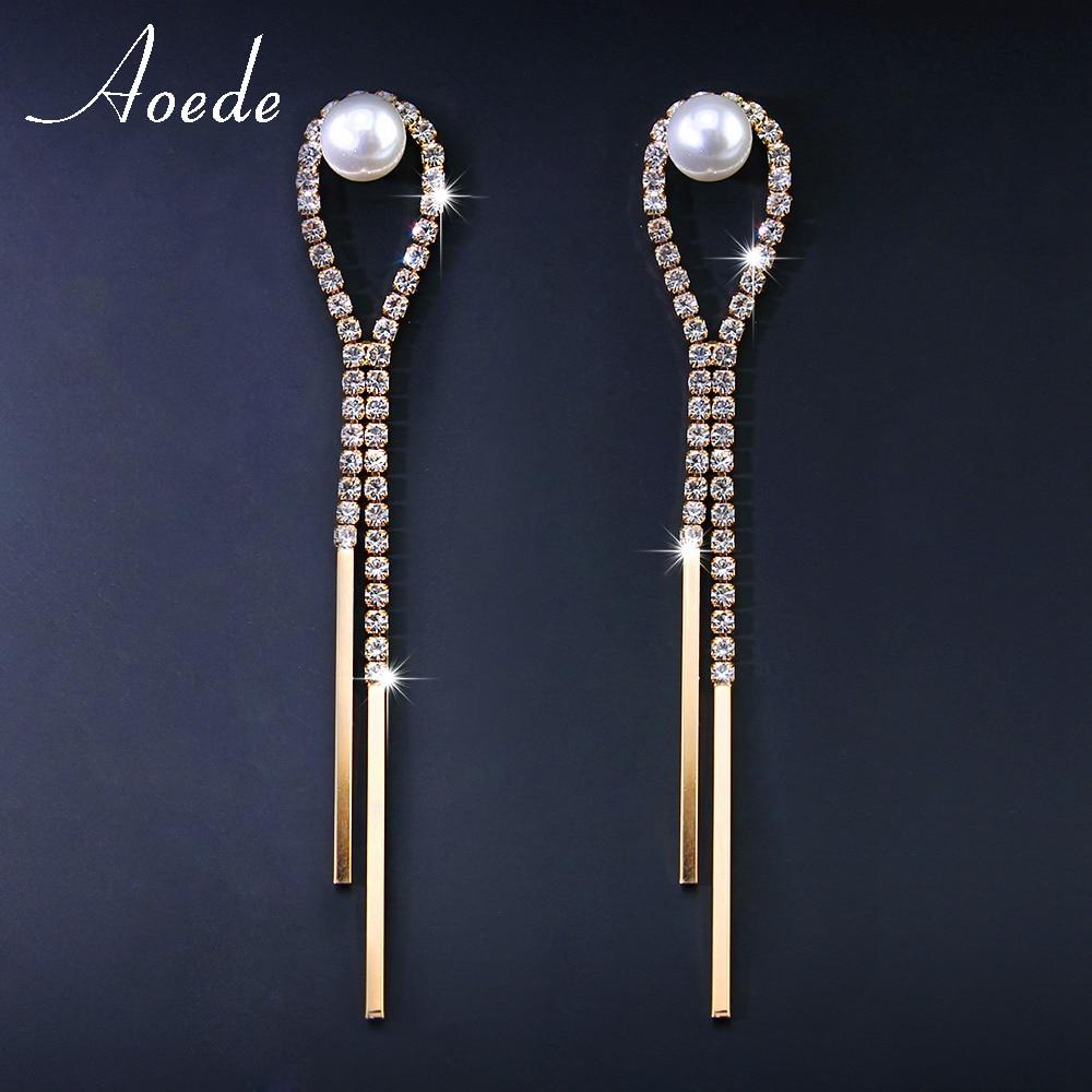 Lastest Long Diamond Earrings Women With Fantastic Minimalist In Spain U2013 Playzoa.com