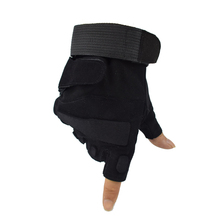Military Armed Gloves Anti-skid Half Finger Sport Tactical Hunting Airsoft Fingerless Hiking