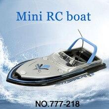 قارب RC جديد ماركة باركو RC 777 218 جهاز تحكم عن بعد صغير RC سباق نموذج قارب سريع مع هدية للأطفال FSWB
