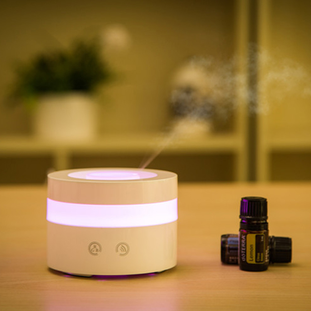 Aroma night lamps - New Ultrasonic Aroma Diffuser 100ml Air Humidifier Led Night Light Essential Oil Adjustable Color Changing For