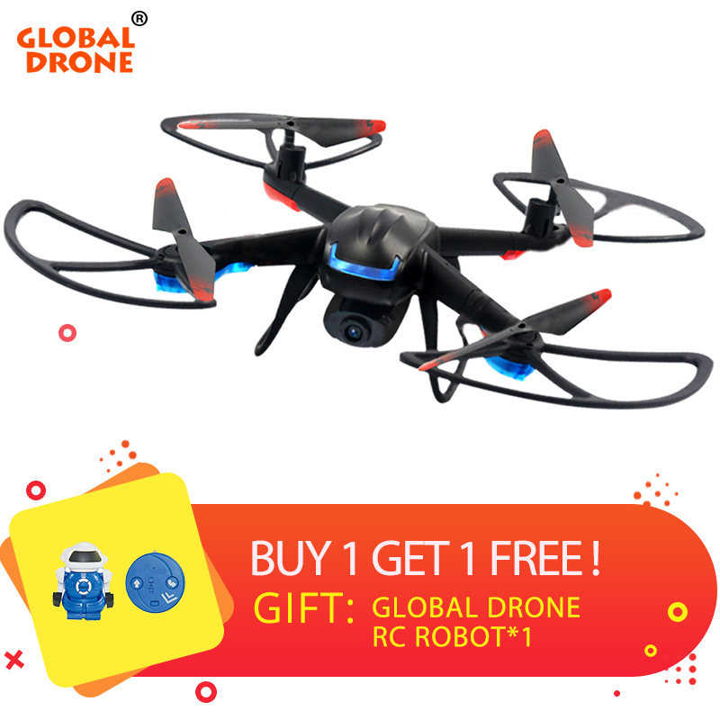 Global Drone GW007-3 Professional Dron RC Helicopter FPV Quadrocopter Altitude Hold One Key Return Drones with Camera HD global drone gw007 rc quadcopter spare parts charger gw007 09