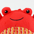 1Pcs 20cm Baby Rattles Mobiles Toy Crab Ball ring bell Infant Baby Crib Stroller Toy 0+ month Plush Sound Newborn Bed Soft Play
