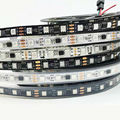 WS2812B DC 5V waterproof LED Strip light 1m/4m/5m 2811ic Built-in individually addressable RGB led tape lamp 30/60/144 leds/m