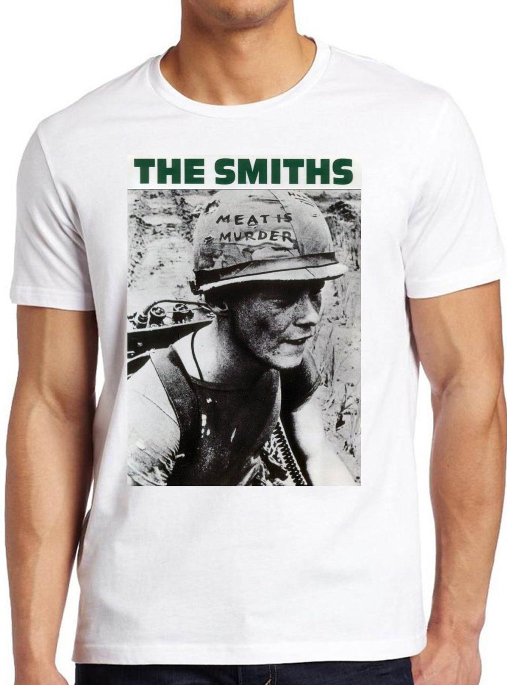 Der Schmiede T-shirt Fleisch Ist Murder Alternative Rock Morrissey Top T-shirts Swag...