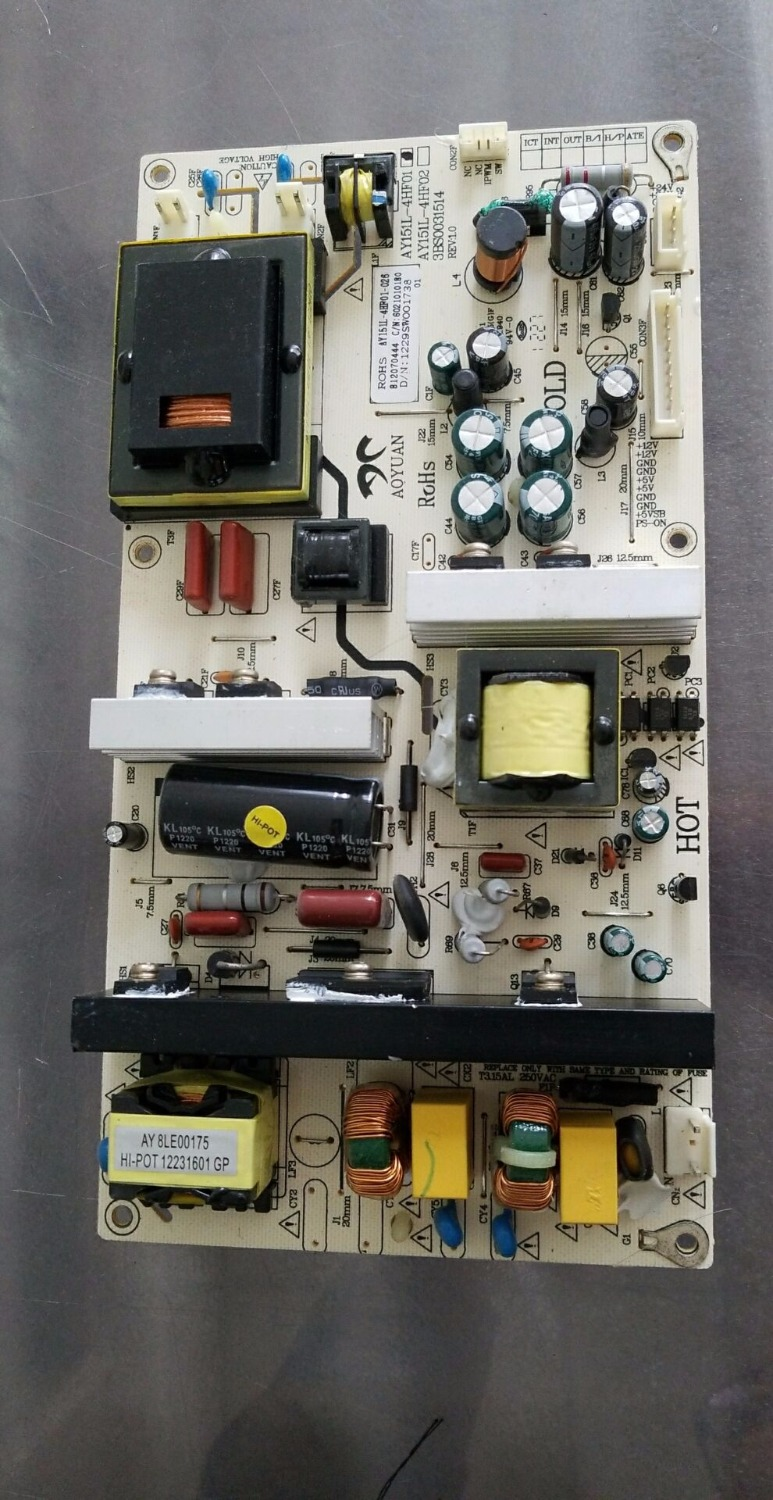 все цены на AY151L-4HF01 3BS0031514 REV:1.0 Good Working Tested онлайн