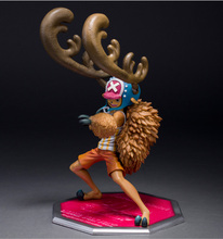 Anime One Piece POP Tony Tony Chopper Strengthen Horn 23CM PVC Action Figure Toy Collection Model