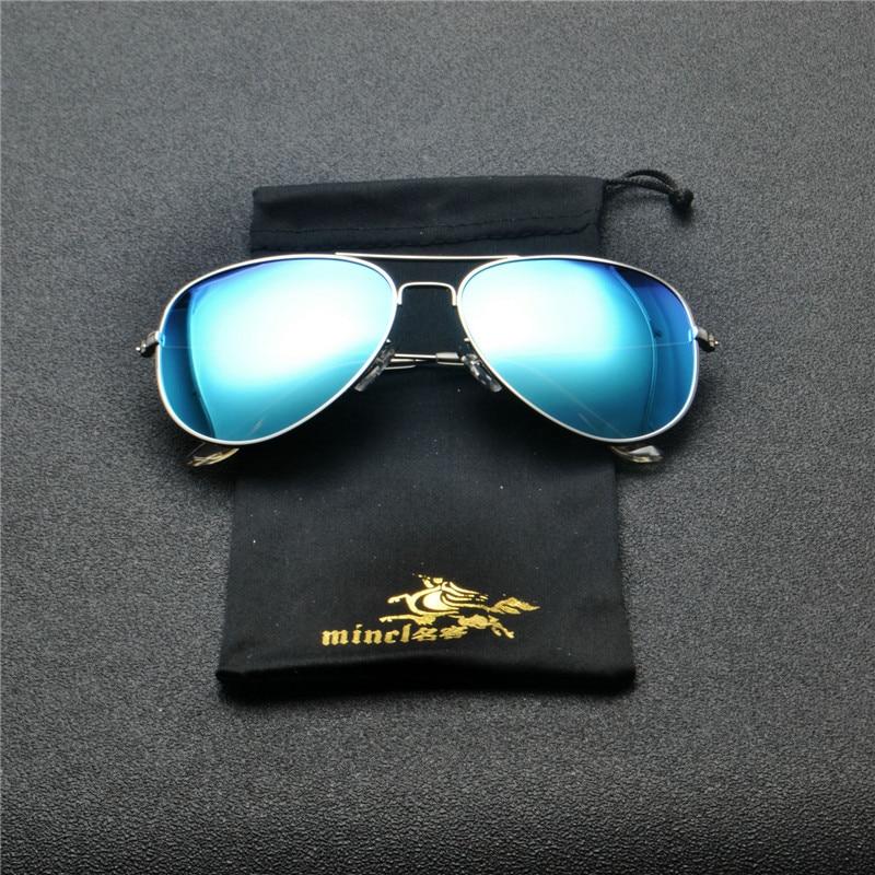 2018 Men mirror Polarized Sunglasses Classic Men Retro Shades Brand Designer Pilot Sun glasses Women Retro Glasses goggle FML 3