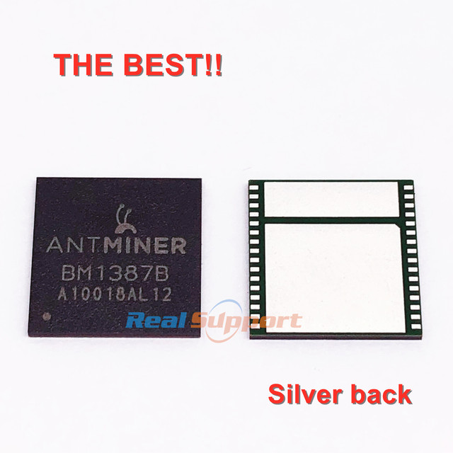 Лучшие BM1387 BM1387B Bitcoin Miner S9 T9 T9 + чип