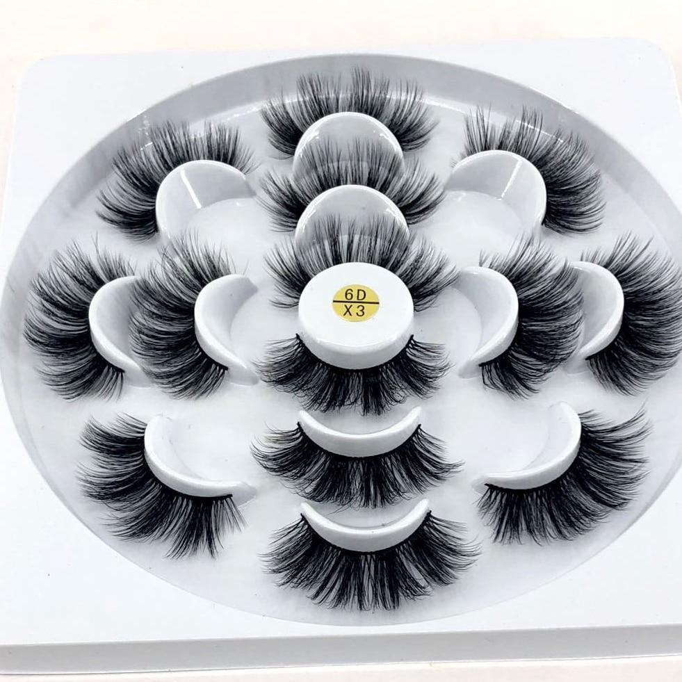 85a2cfe2101 HBZGTLAD natural false eyelashes fake lashes long makeup 3d mink lashes  eyelash extension
