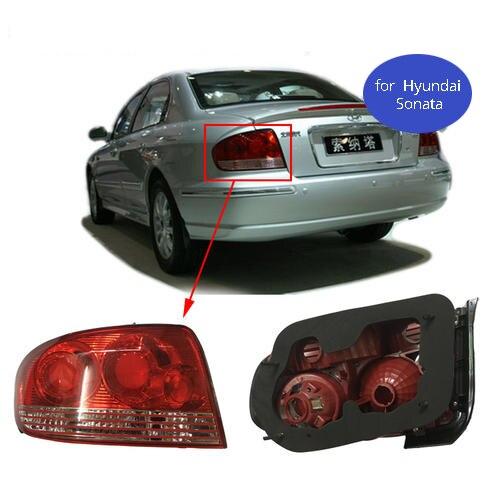 MZORANGE voiture style pour Hyundai Sonata feux arrière Sonata YF feu arrière LED DRL Signal frein inverse auto accessoires