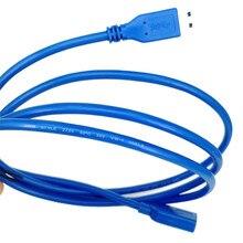 USB 1 м кабель-удлинитель для синхронизации данных, Удлинительный кабель, Суперскоростной Кабель USB 3,0