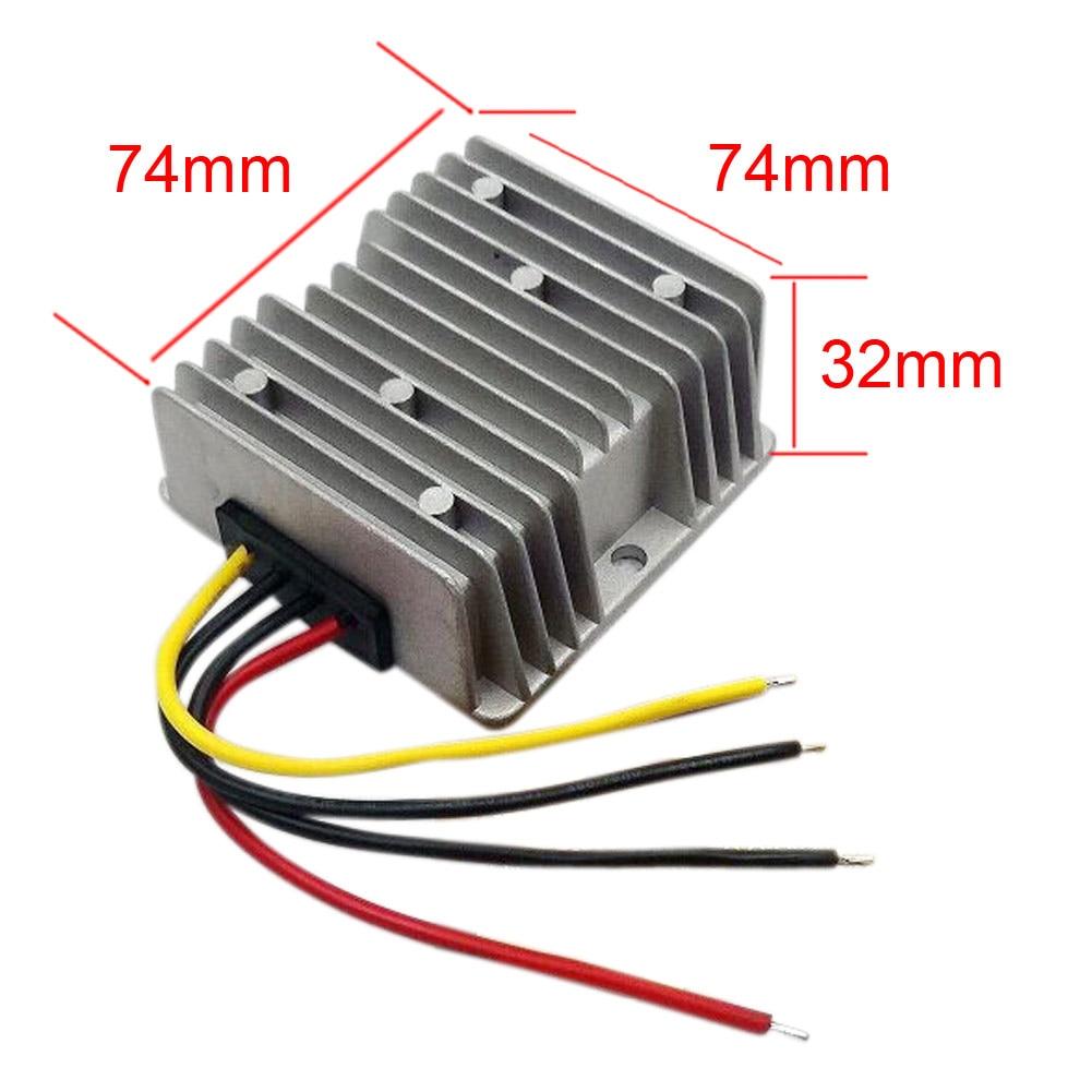 High Quality Boost Module Adaptor DC 12V To 13.8V 15A 207W Step Up Power Supply Converter Regulator For Navigation Electrical