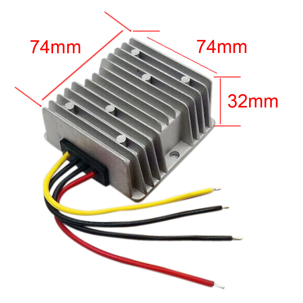 High Quality Boost Module <font><b>Adaptor</b></font> <font><b>DC</b></font> <font><b>12V</b></font> To 13.8V 15A 207W Step Up Power Supply Converter Regulator For Navigation Electrical image