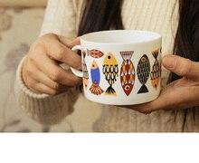 European Simple Cup Creative Coffee Milk Bone China Cup Office Breakfast Milk Coffee Hot Tea Juice Cup